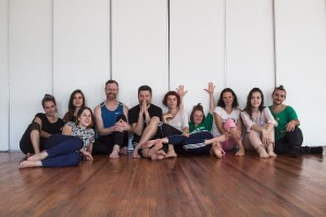 First day of rehearsal!     photo: Stanislava Ovchinnikov